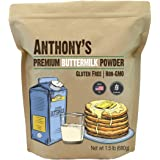 Anthony's Premium Buttermilk Powder, 1.5 lb, Gluten Free, Non GMO, Made in USA, Keto Friendly, Hormone Free