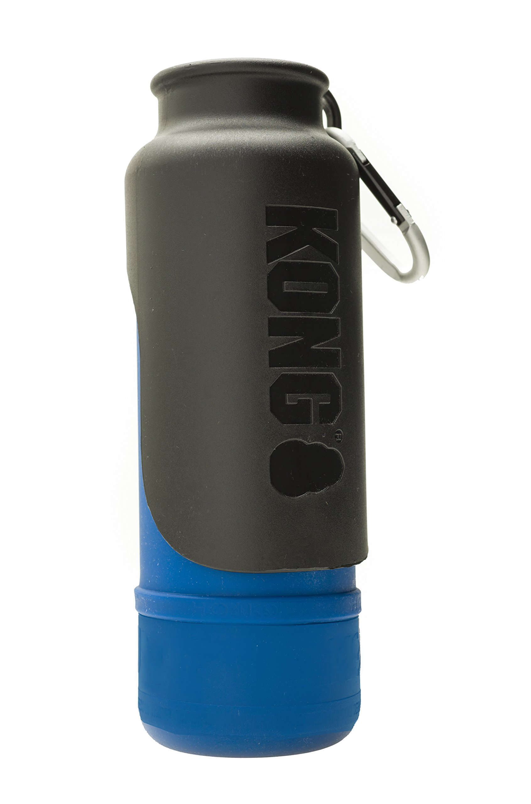 KONG H2O - Insulated Stainless Steel Dog Water Bottle - 25 oz - Blue