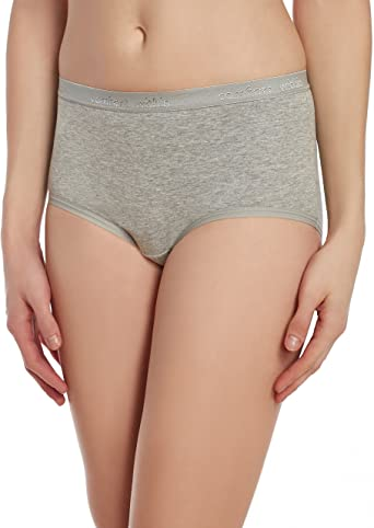 Ladies Full Briefs Soft Comfy Womens Maxi Lace Knickers Cotton Underwear 3 Pack