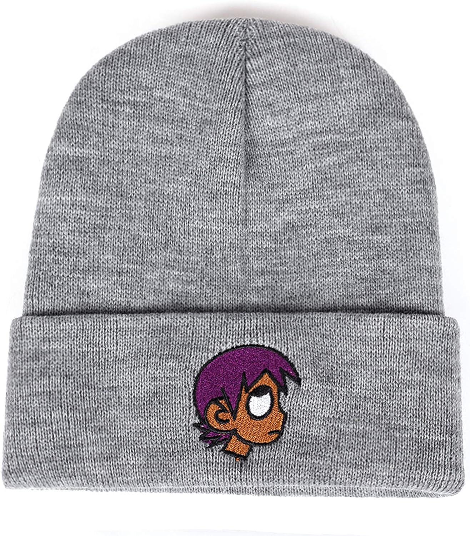 Wilbur Gold New Embroidery Winter Hat Fashion The Rapper Warm Cap Hip Hop Women Men Bone Garros