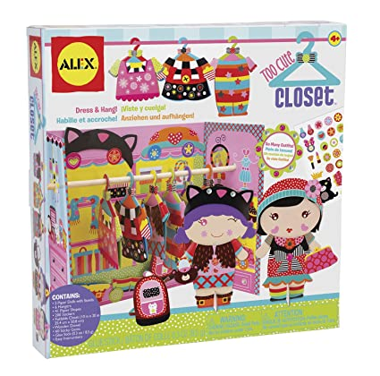 Amazon.com: ALEX Toys Craft Too Cute Closet: Toys & Games