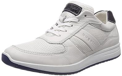 Bugatti 311385051000, Sneakers Basses Homme, (White), 45 EU