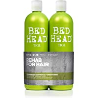 Bed Head by Tigi Urban Antidotes Re-Energise Daily Shampoo and Conditioner, 750 ml, Pack of 2