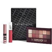 Maybelline New York - Maybelline New York - Paleta de Sombras The Burgundy Bar + Super Stay Matte Ink tono 15 Lover…