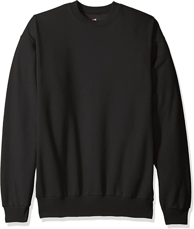 Hanes Mens EcoSmart Fleece Sweatshirt Sweatshirt