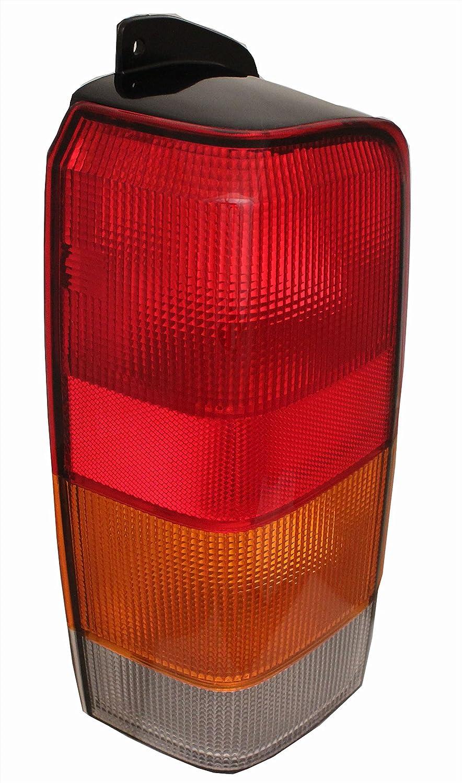 QP E6102-a Jeep Cherokee Driver Tail Light Lens & Housing Aftermarket