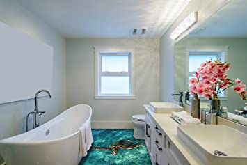 3d Foto Fußboden Kaufen ~ Ruvitex d belag dekor boden badezimmer vinyl pvc teppich