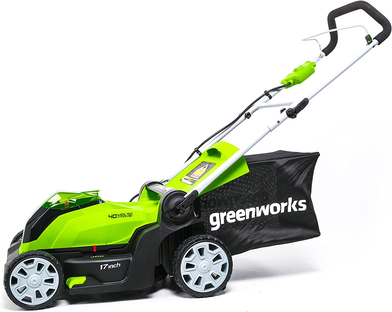 Amazon.com: Greenworks - Cortacésped eléctrico de 17.0 in ...