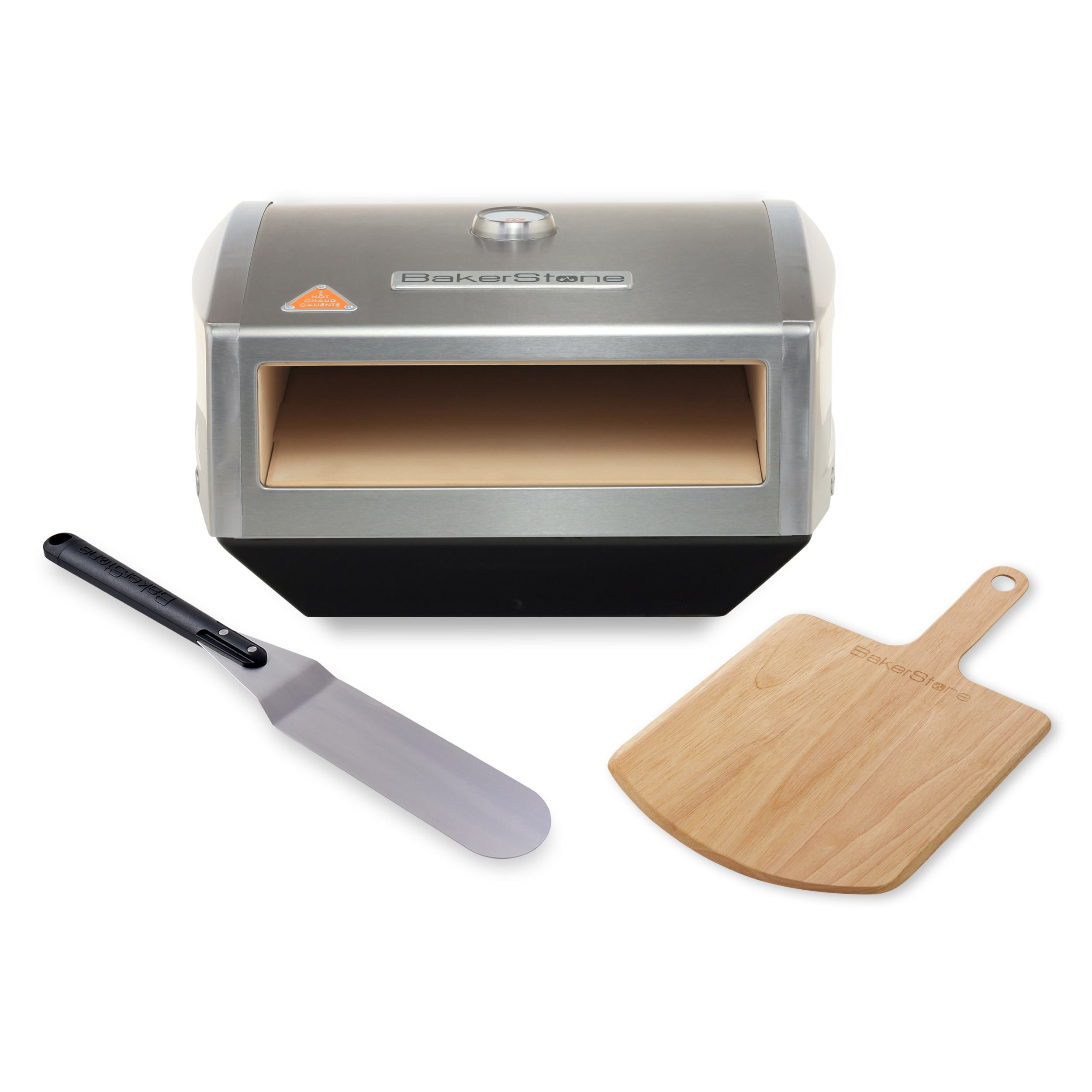 BakerStone Pizza Box, Gas Stove Top Oven (Stainless Steel) by BakerStone