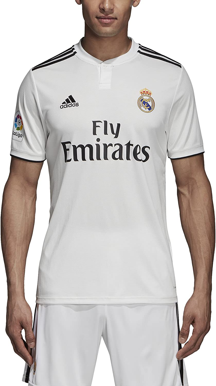 películas hemisferio Condimento  adidas Real Madrid 2018/2019 Camiseta oficial, Hombre: Amazon.es: Ropa y  accesorios