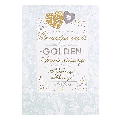 Hallmark Glückwunschkarte Für Die Großeltern Zur Goldenen