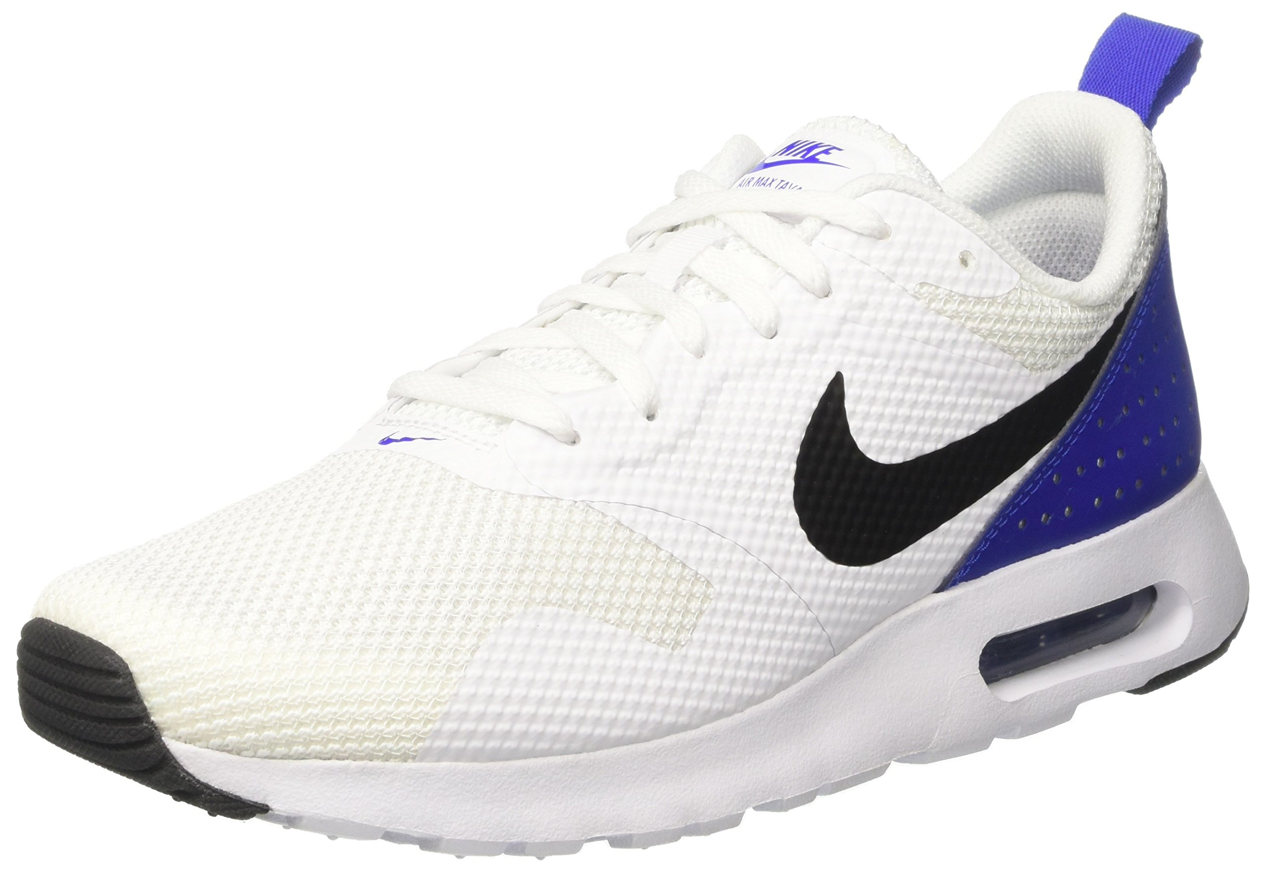 differently 64d58 fb6f3 Galleon - NIKE Men s Air Max Tavas Fashion Shoes White Black Paramount  Blue, 10.5