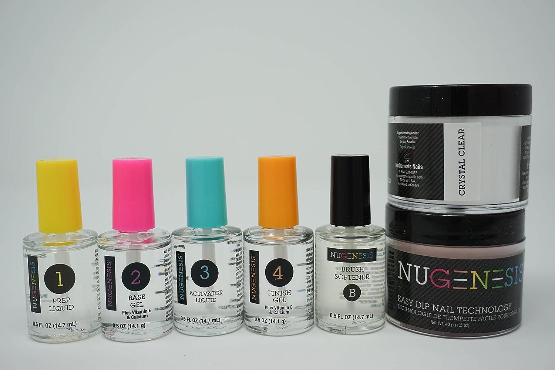 Nugenesis Dipping Powder Starter kit (7pcs)