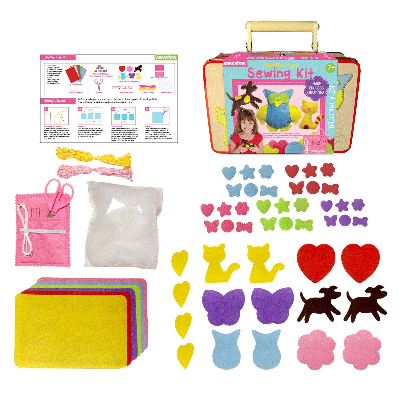 Sewing Kit Sassafras Enterprises Inc Sassafras Sew Cute Toys 3884SW