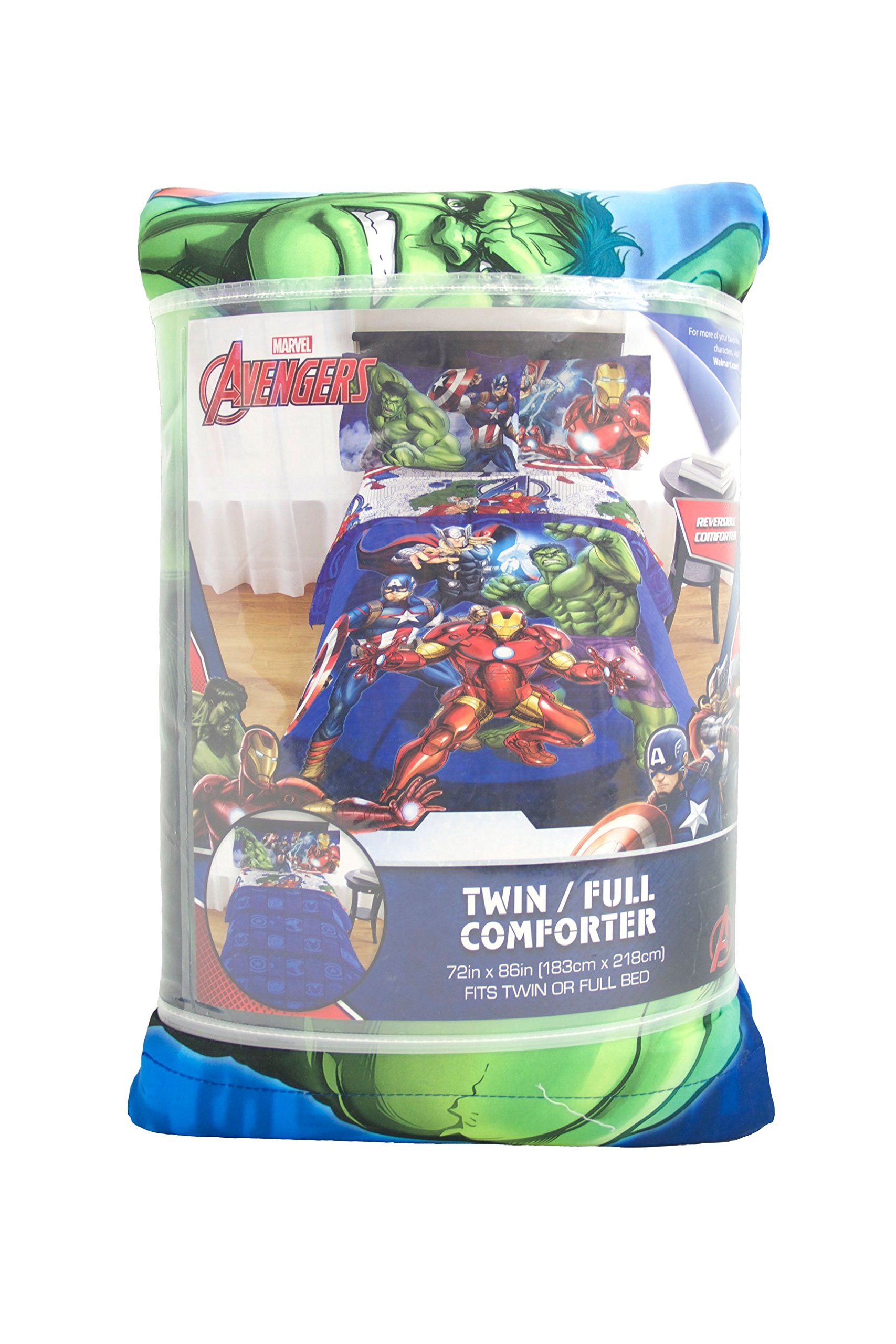 tibs kitchen marvel home full circle comforters twin reversible product comforter blue avengers