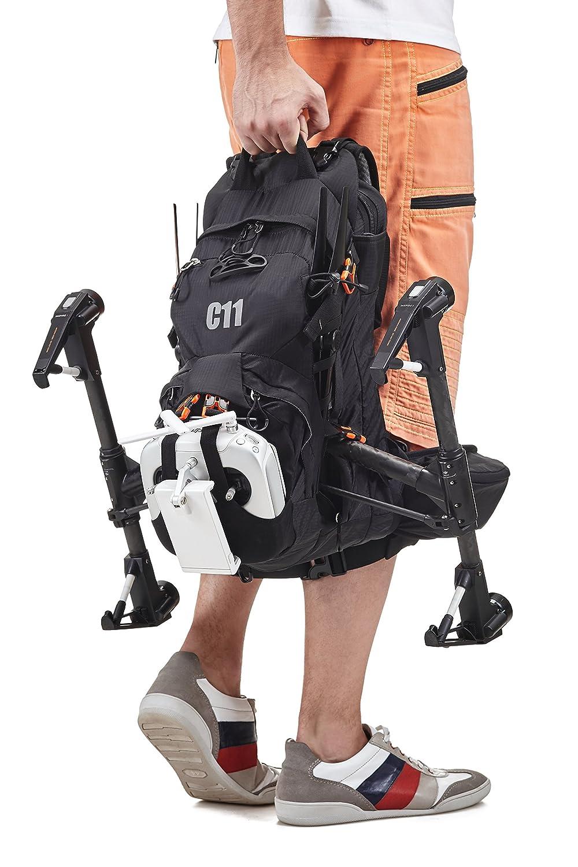 amazon com backpack for dji inspire 1 dji inspire 2 black by