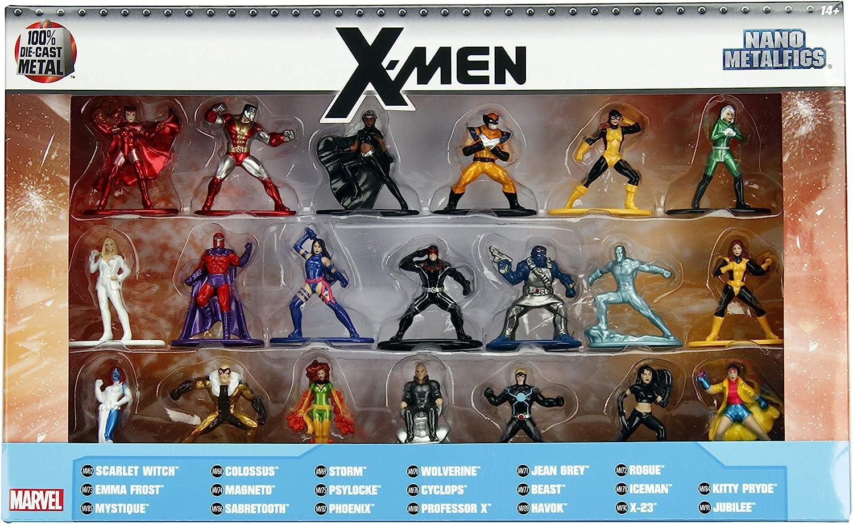 Jada Marvel X-Men 20 Pack Die-Cast Figures, 1.65