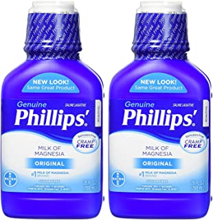 Phillips Milk of Magnesia Laxative (Original, 26-Fluid-Ounce Bottle,