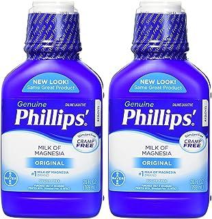 Phillips Milk of Magnesia Laxative (Original, 26-Fluid-Ounce Bottle,