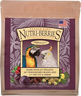 product image for LAFEBER'S Senior Bird Nutri-Berries Pet Bird Food, Made with Non-GMO and Human-Grade Ingredients