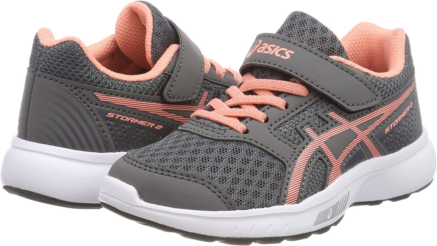 ASICS Stormer 2 PS, Zapatillas de Running para Niños: Amazon.es ...