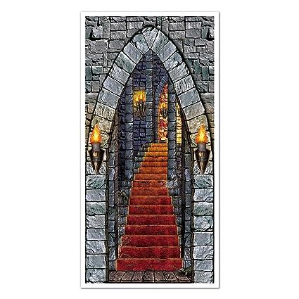 X 5/ft 30/en Halloween castillo puerta de entrada 1//Pkg,