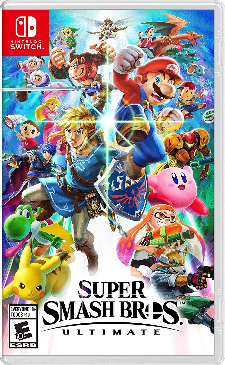 Super Smash Bros. Ultimate for Nintendo Switch [USA]: Amazon.es ...