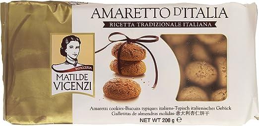 4 opinioni per Vicenzi- Amaretto d'Italia, Ricetta Tradizionale Italiana- 200 g