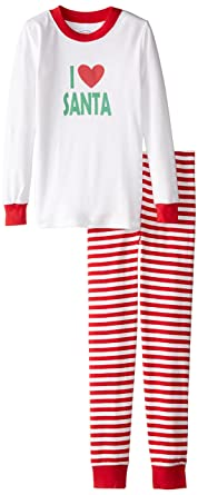 Amazon.com  Sara s Prints Unisex Kids Long John Pajamas  Clothing 193edf1ca