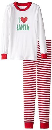 0719e28a3e Amazon.com  Sara s Prints Unisex Kids Long John Pajamas  Clothing