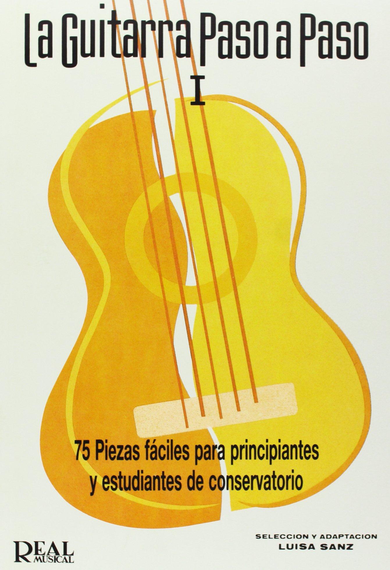 La Guitarra Paso a Paso: Amazon.es: Sanz Martínez, María Luisa ...