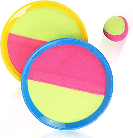 Amazon Com Liberty Imports Classic Toss Catch Sports Game Set For Kids With Bean Bag Ball Toys Games