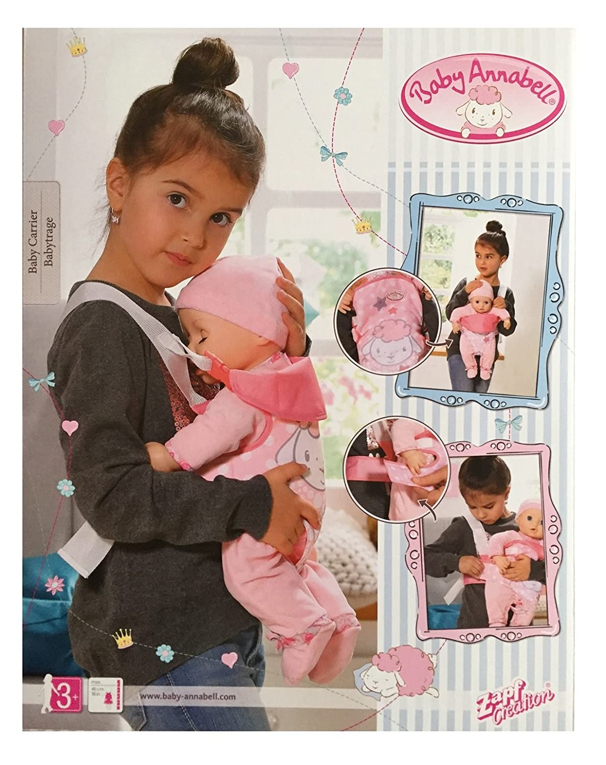 baby annabell carrier