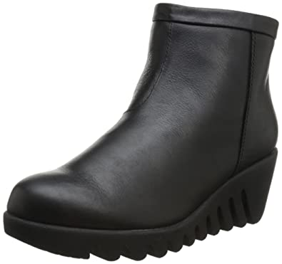 Women's Bang Back Zip Wedge Boot
