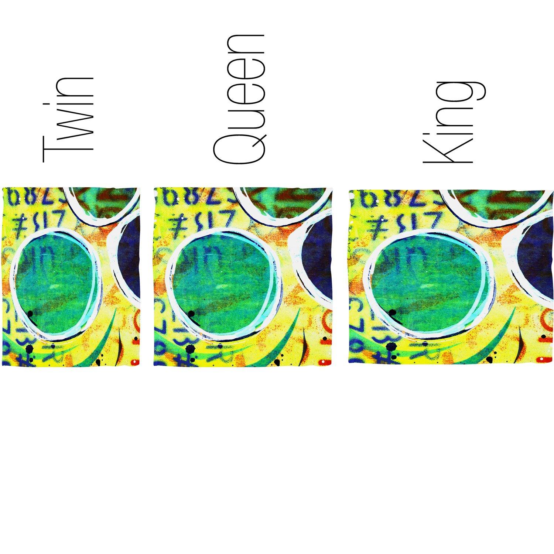 Deny Designs  Sophia Buddenhagen Alphabet Duvet Cover Twin//Twin XL
