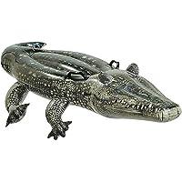Intex Animal Gonflable effet réaliste + 2poignées Crocodile -