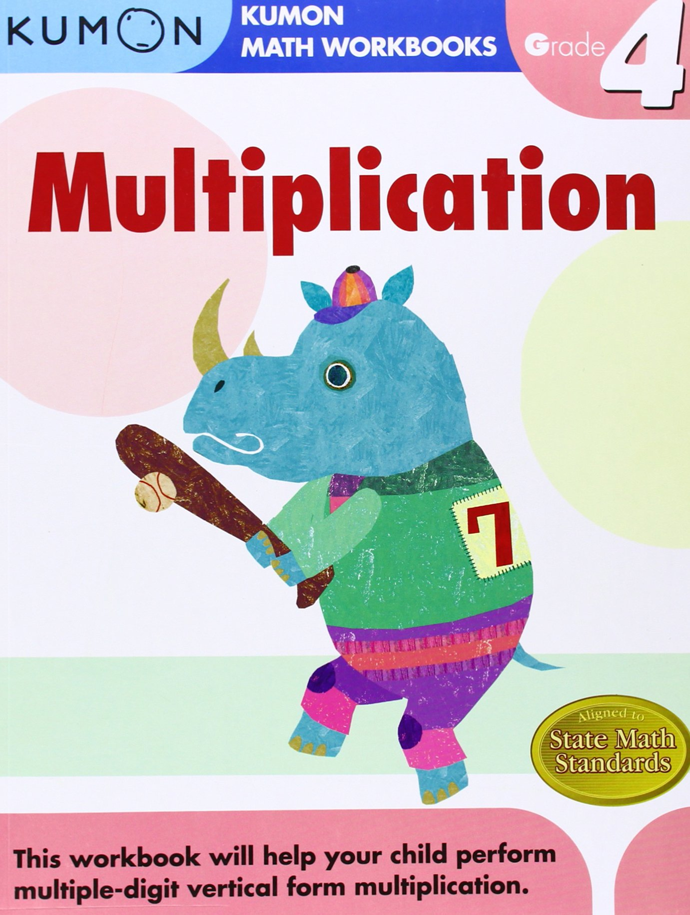 Grade 4 Multiplication Kumon Math Workbooks Kumon Publishing