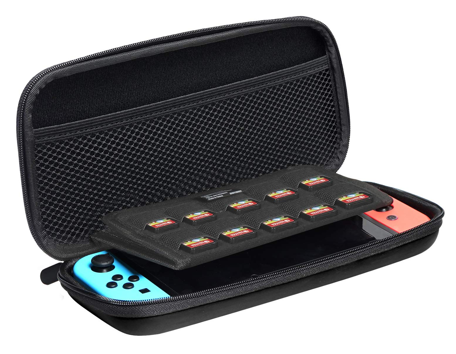 Amazon Basics Carrying Case for Nintendo Switch - Black