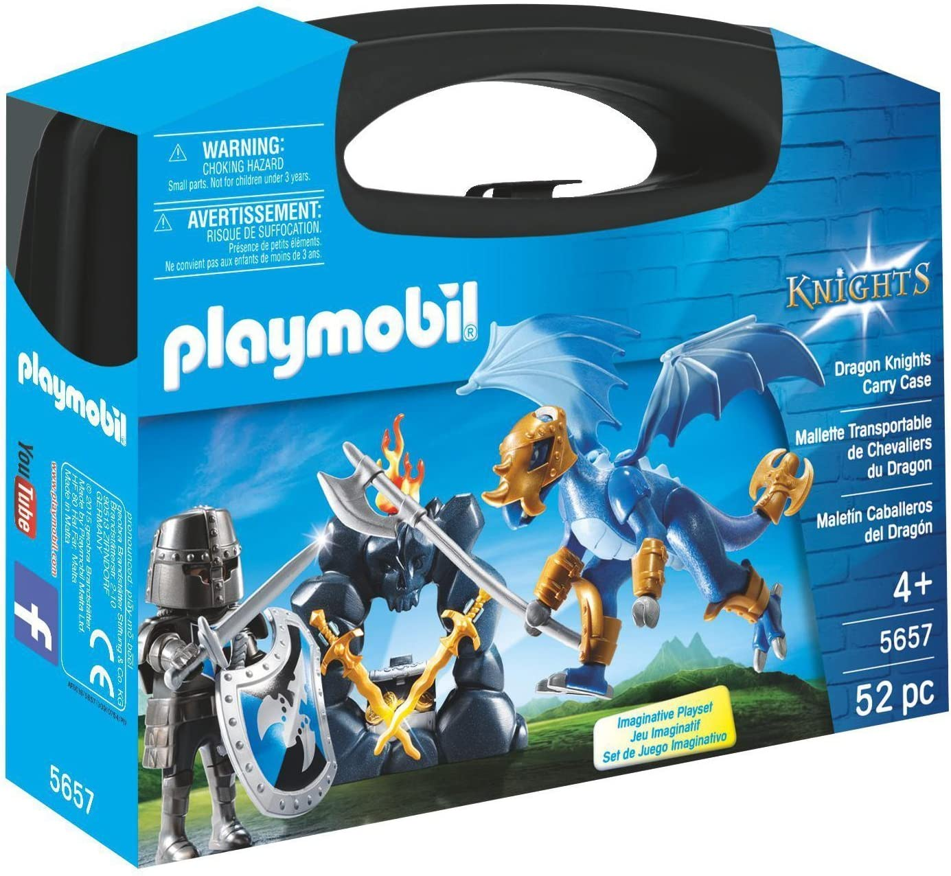 PLAYMOBIL Caballeros- Autre Playset, Color Otro, Miscelanea (5657)