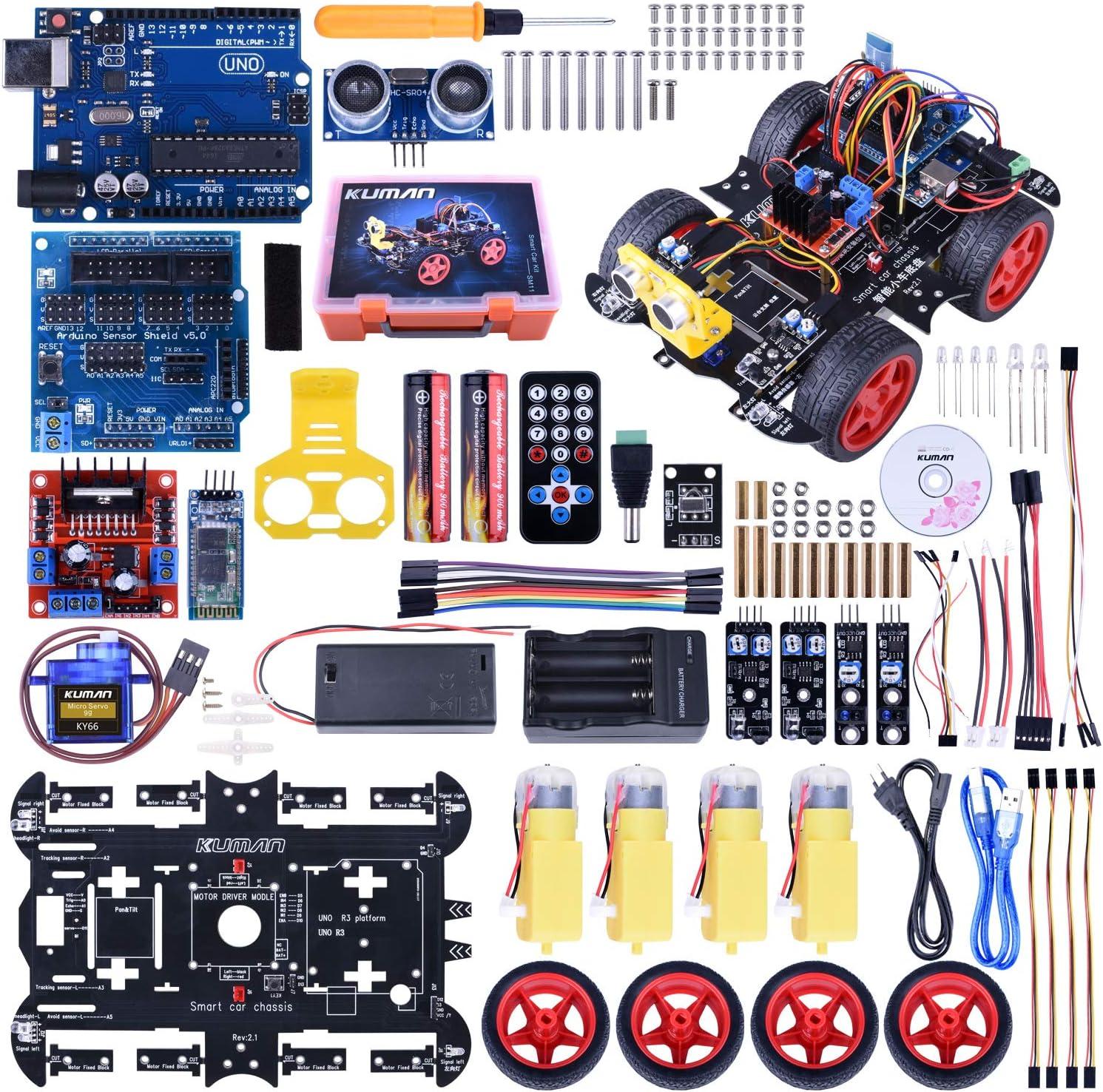 Arduino Sensor Kit, Raspberry Pi 3 Mega 2560, 37 en 1 Módulo ...