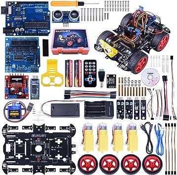 Arduino Sensor Kit, Raspberry Pi 3 Mega 2560, 37 en 1 Módulo Sensor Proyectos para Arduino Starter Kit K5 (Updated Version) (Arduino Starter Kit): Amazon.es: Electrónica