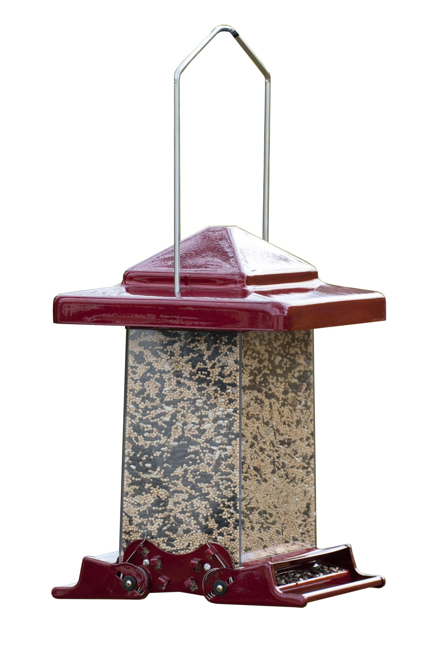 Woodlink WL75160 Reflective Red Vista Squirrel-Resistant Feeder