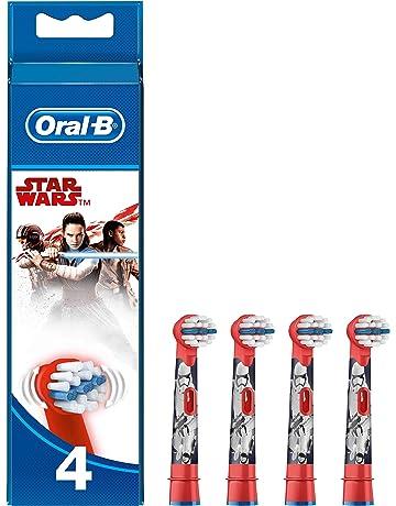 Oral-B Cabezales de Recambio para Cepillo de Dientes Eléctrico de Star Wars x4