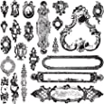 "Prima Marketing 655350815370 Iod Decor Stamps - ""Hardware"""