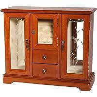 Mele Designs Trina Jewelry Box, Oak
