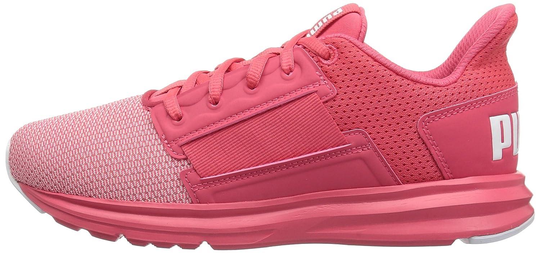 PUMA Women's Enzo Street Wn Sneaker B071X48FNP 11 M US Paradise Pink-puma White