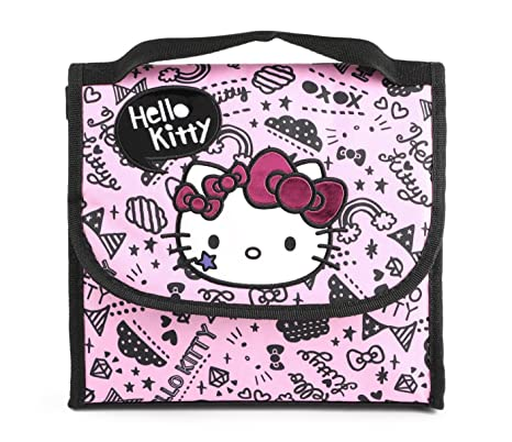 2b3e978033 Image Unavailable. Image not available for. Color  Hello Kitty Lunch Bag   Rising Star