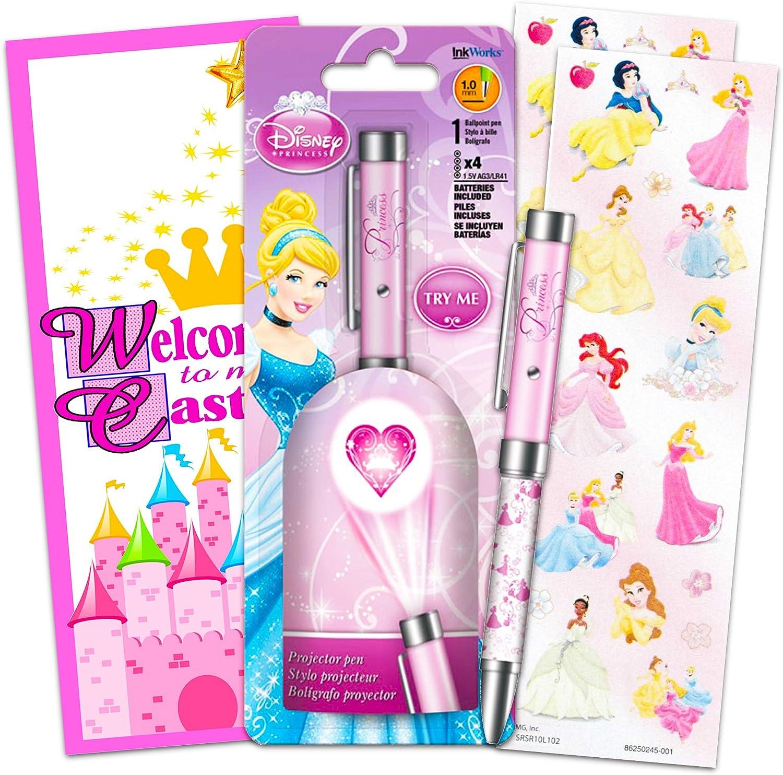 Amazon.com: Disney Princess Pen Set ~ Bundle Includes ...