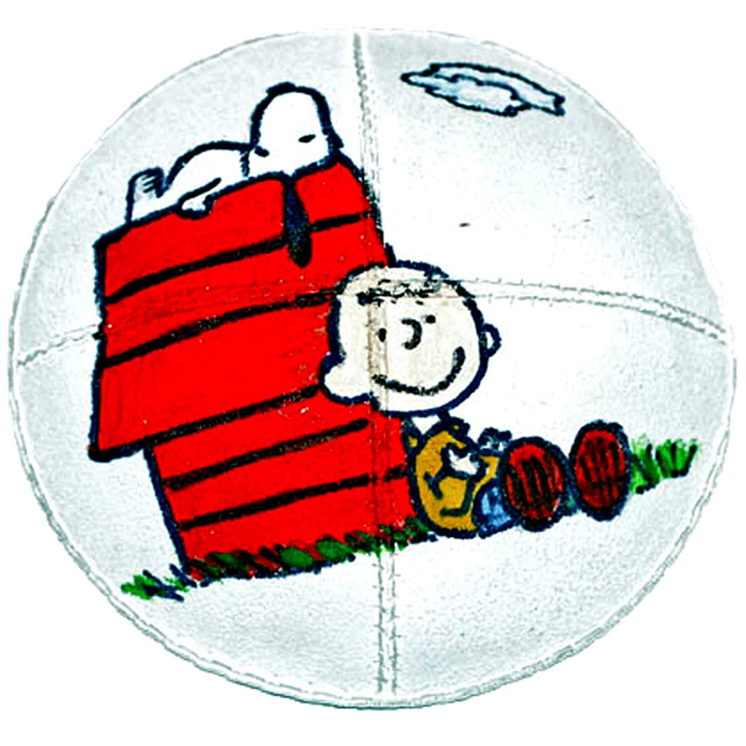 Hand-painted Kippah (Yarmulke) with Snoopy and Charlie Brown