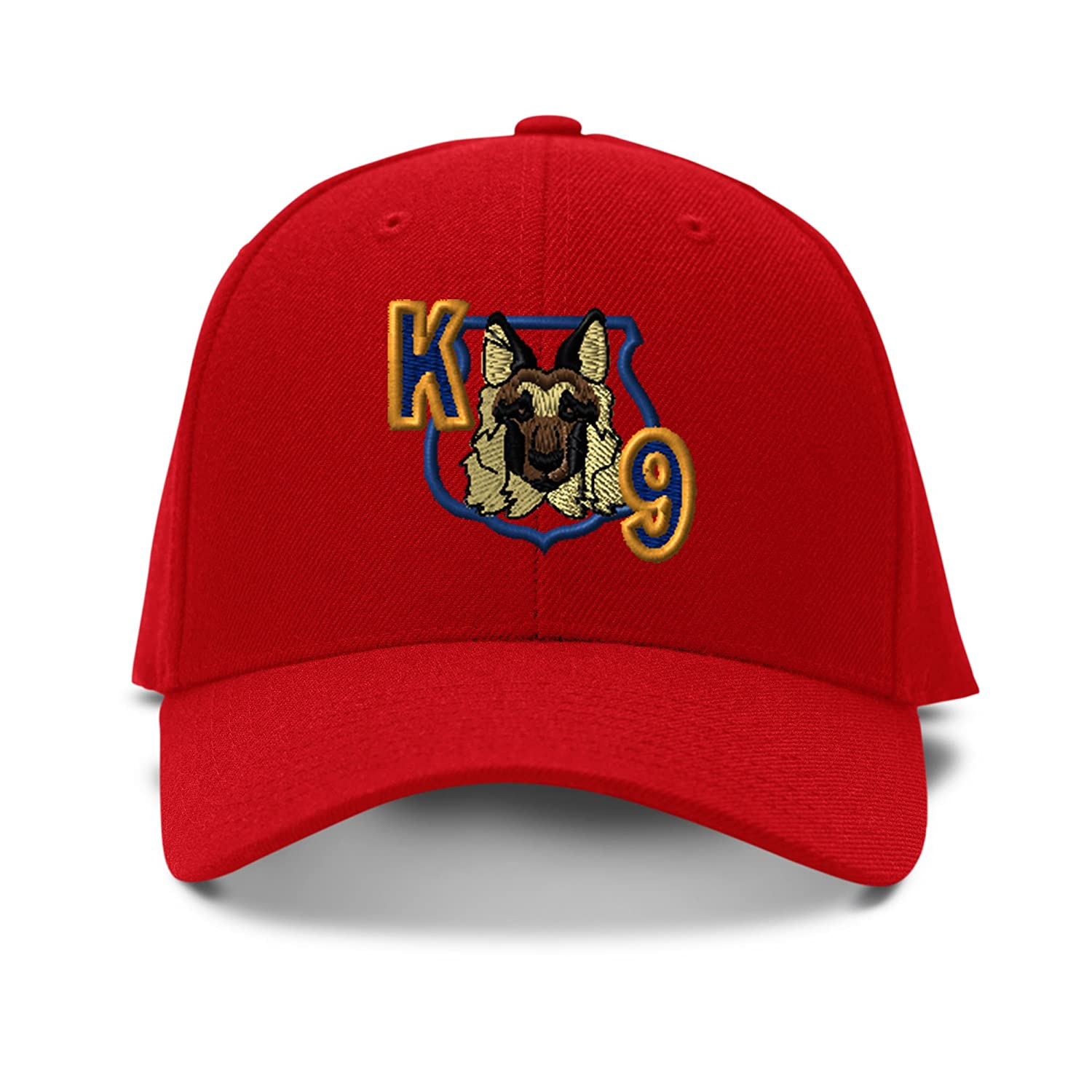 Speedy Pros K-9 Unit Dog Police Embroidery Adjustable Structured Baseball Hat CAPGLG0616_B